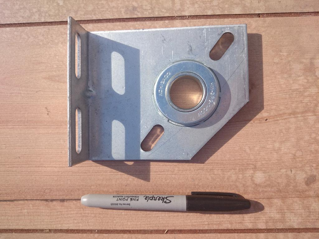 Garage Door parts Centre Bearing Bracket