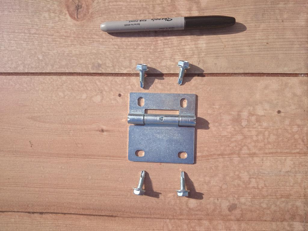 Garage Door parts Small Hinge