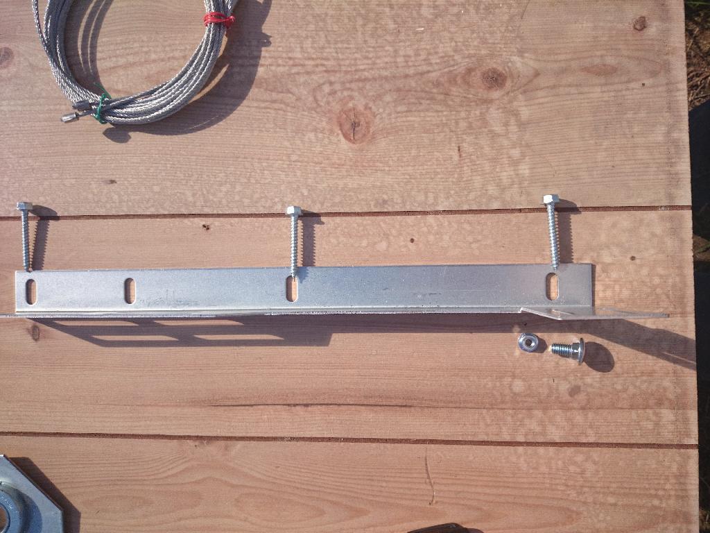 Flag Bracket Garage Door parts part