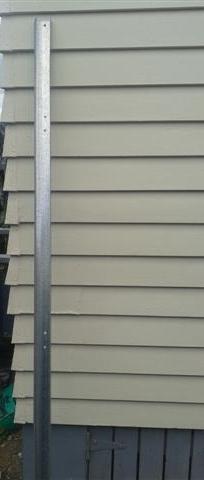 Parts for sale aaron garage doors for Garage door horizontal track